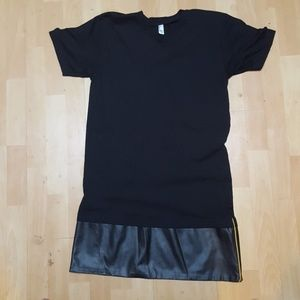 American apparel long tee shirt